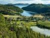 Utsikt över Häggvik från Stortorget