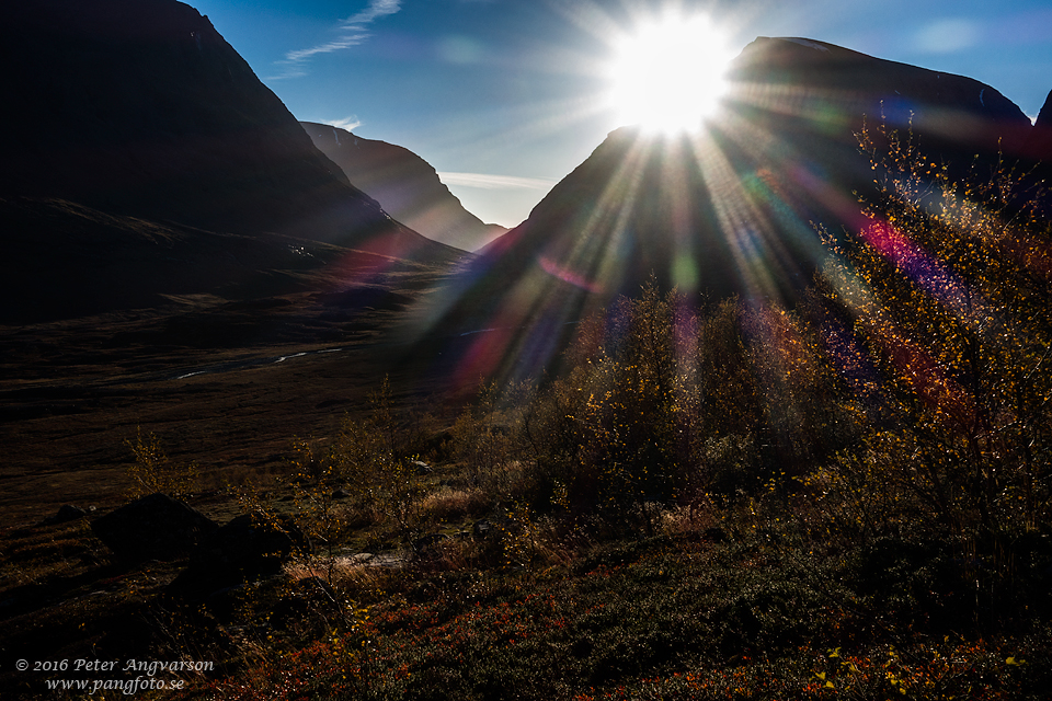 Ladjovagge kungsleden nordkalottenleden fjällvandring pangfoto Peter Angvarson