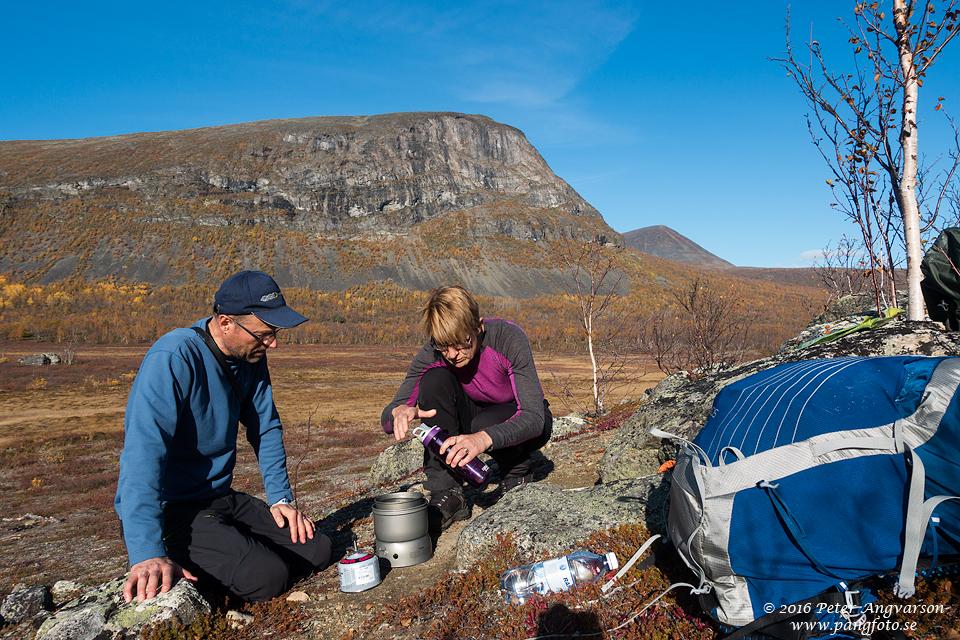 nordkalottenleden fjällvandring pangfoto Peter Angvarson