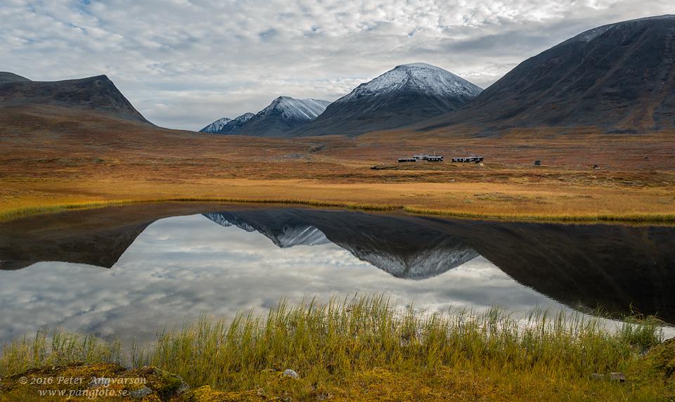 Sälkastugorna kungsleden nordkalottenleden fjällvandring pangfoto Peter Angvarson