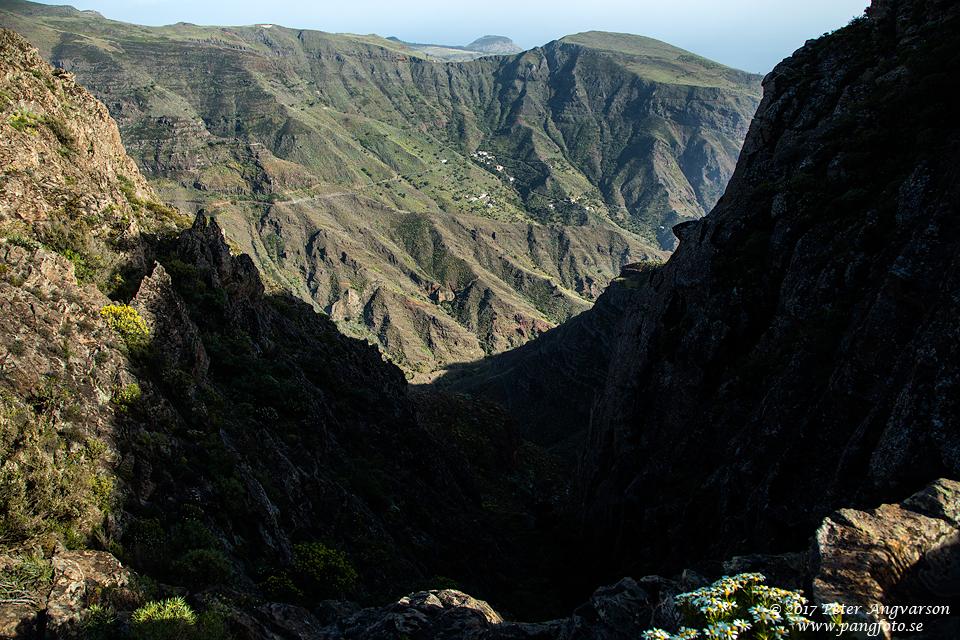 La Gomera, View from La Fortaleza