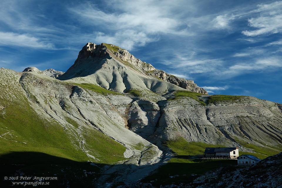 Val Gardena, rifugio Puez